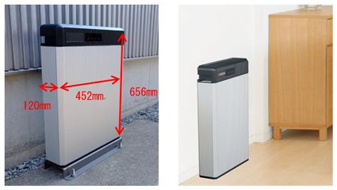 定置型蓄電池 屋外設置・屋内設置画像
