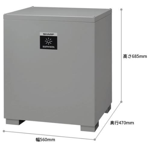 シャープ9.5kWh製品サイズ