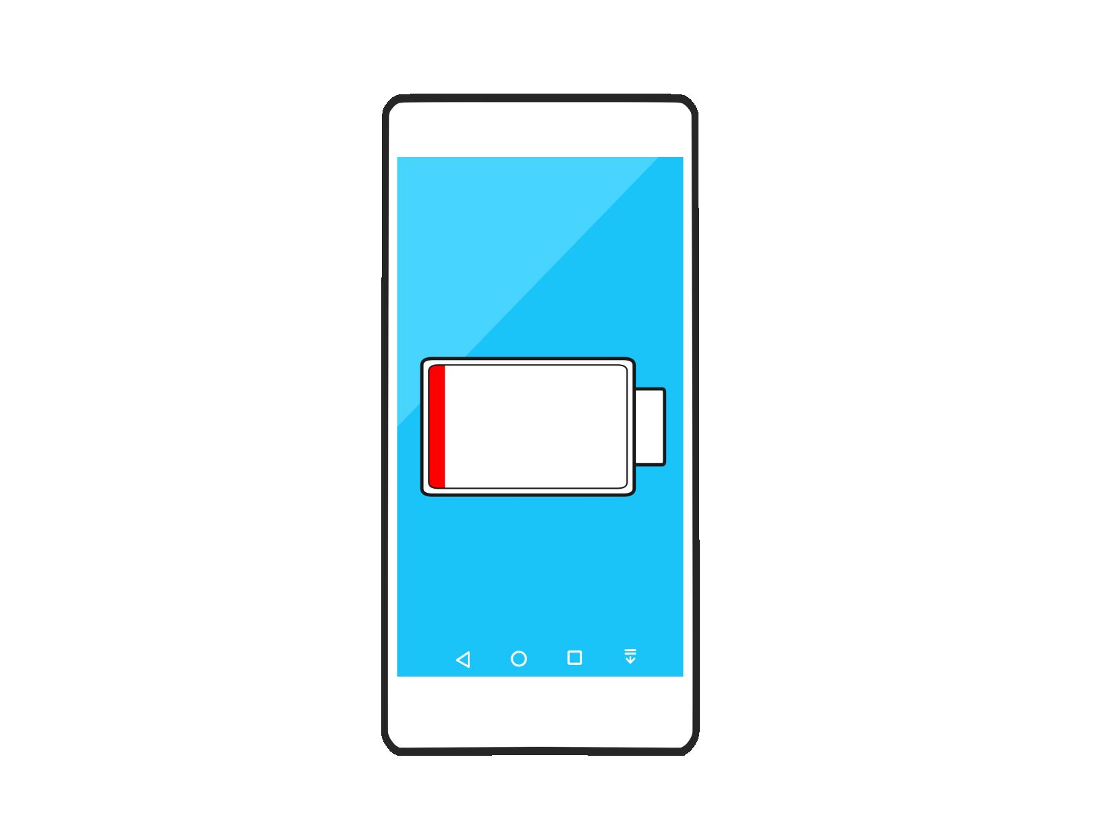 スマートフォンが使えないイメージ
