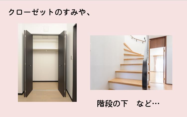 屋内設置の設置場所イメージ