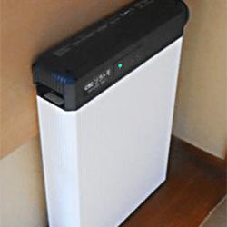 長州産業 6.5kWh 単機能 蓄電池施工写真