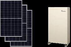 Qセルズ太陽光×アイビス 製品写真
