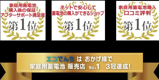 日本トレンドサーチ 3冠達成