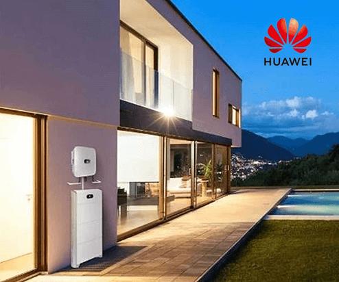HUAWEI蓄電池設置イメージ