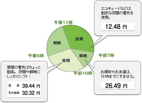 東京電力「電化上手」例